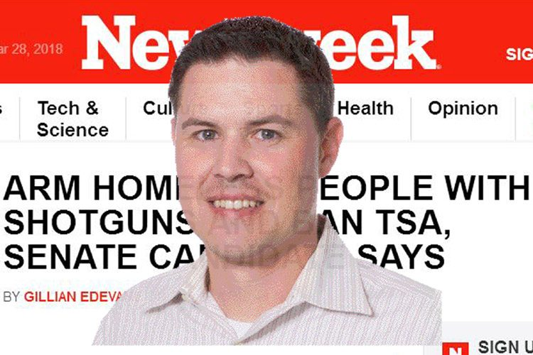 Brian Ellison's campaign was featured in Newsweek
