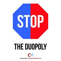 Stop The Duopoly Facebook Profile Pic