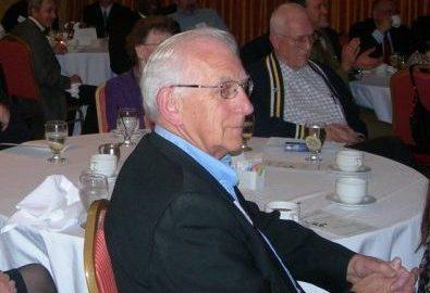 Edward Karpinski at a Libertarian Banquet.