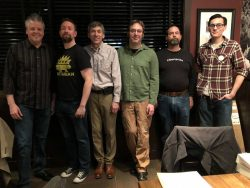 Left to Right: Tim Yow, Benn Carr, Jeff Pittel, Greg Stempfle, Jim Joung, and Jay Nepo.