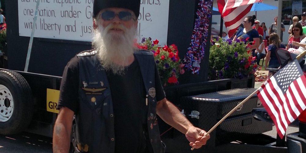 Arnis Davidsons at the Portage parade.
