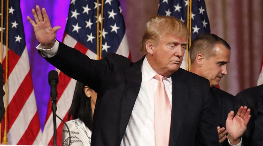Trump's Threat: Donald J. Trump United States of America President.