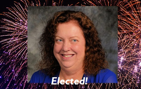 Michigan Libertarian Donna Gundle-Kreig Defeated a Democrat and won an election.