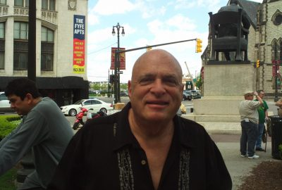 Marvin Surowitz at the 2010 Detroit Liberation Day. May 1. Photo by Scotty Boman.