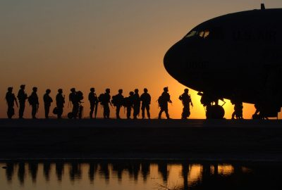 The National Guard has been called to foreign wars while there missione belongs closer to home.